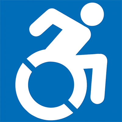 ADA Wheelchair Logo small
