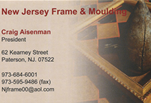 New Jersey Frame & Moulding