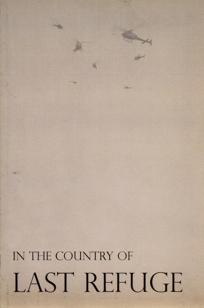 "Aferro Publication No. 5, ""In the Country of Last Refuge"""