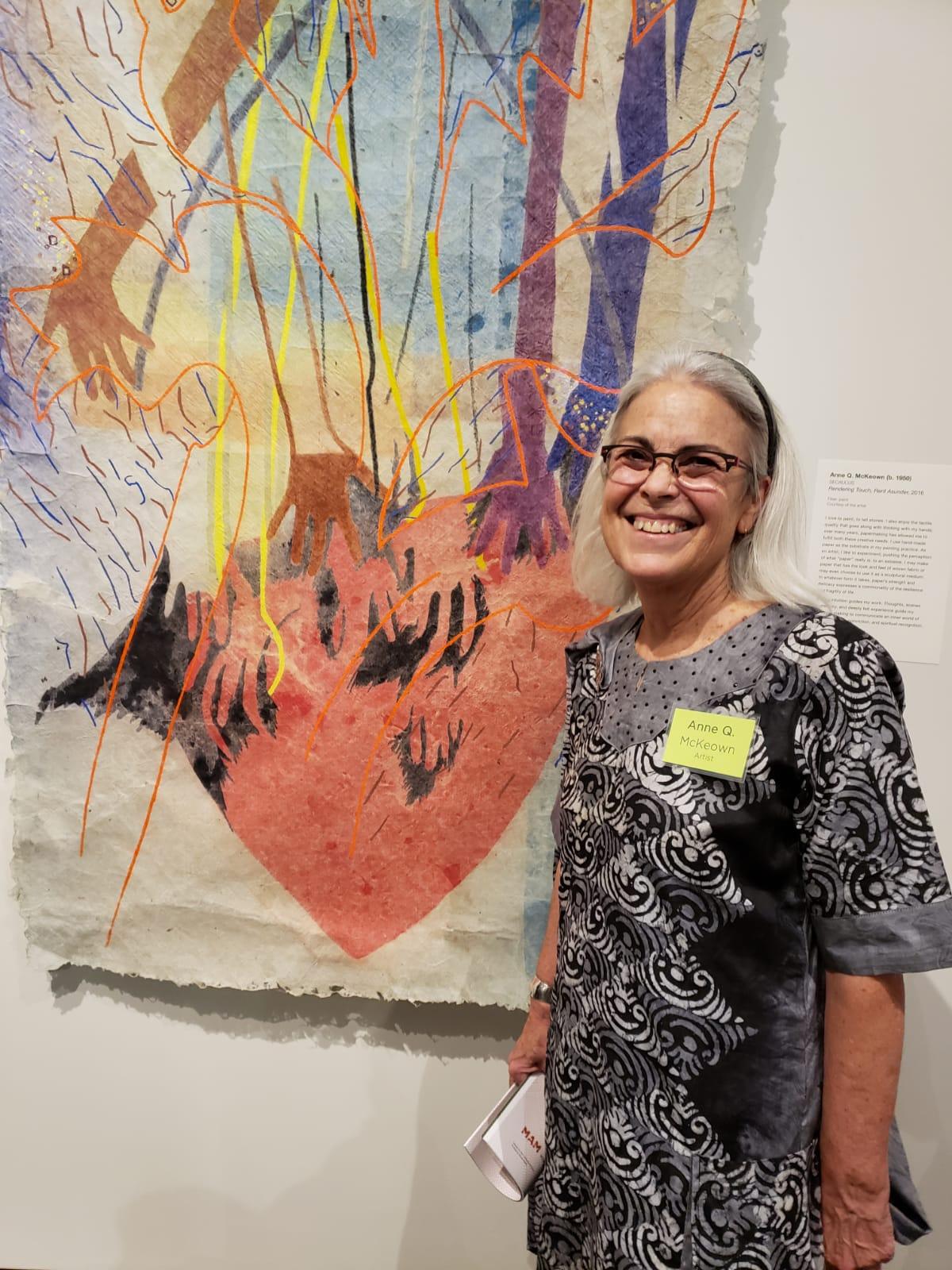 Anne Q. McKeown at MAM NJSCA Crafts Exhibition