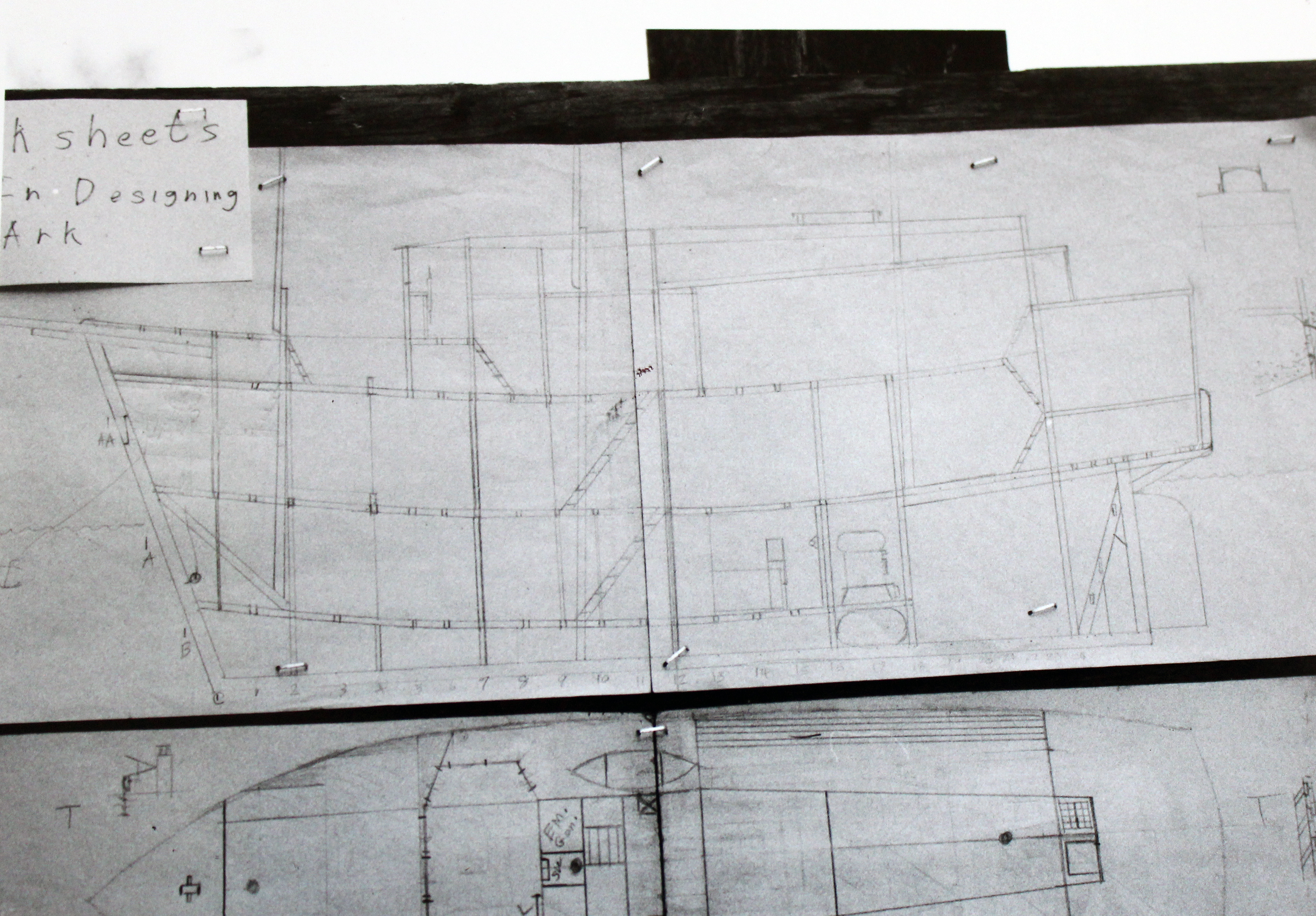 Designing the Ark courtesy of Hatch-Billops Archive